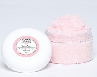 Body Scrub Sweetheart/Sugar/Cherry/pretty/relaxed/exfoliating/Gift idea/Valentine's Day