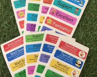Teacher Resource Stickers
