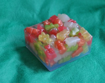 Gummy Bear Glycerin Soap