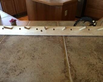Primitive peg board
