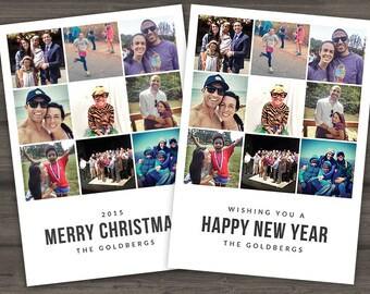 INSTAGRAM POSTCARD | Merry Christmas OR Happy New Year