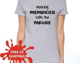 Disney Shirt, Womens Disney Shirt, Womens Mickey Shirt, Mickey Mouse Shirt, Disneyland Shirt, Disney World Shirt, Mickey Mouse, S00114