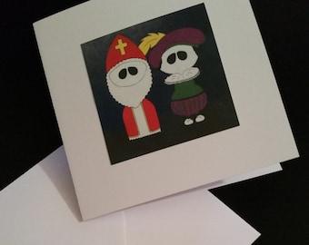 Sinterklaas & Zwarte Piet cards