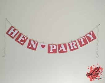 Hen Party Banner, Bachelorette Party, Bride to Be, Girls Night Out, Best Friends, Bridal Party, Girls Night Sign, Custom Banner ,