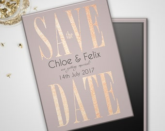Save the Date Wedding Magnets - Just Save It