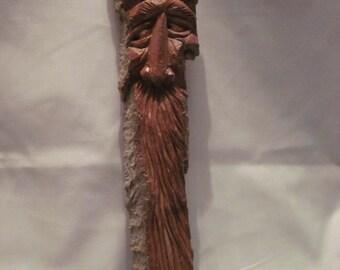 Carved Wood Spirit - 3