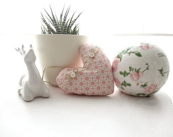 Lavender heart, lavender pillow