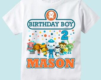 Octonauts Personalized Birthday Shirt