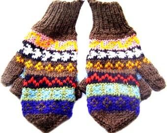 Gamboa Sheep Wool Mittens - Gloves
