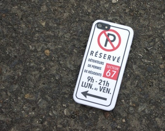 Device cases - No parking