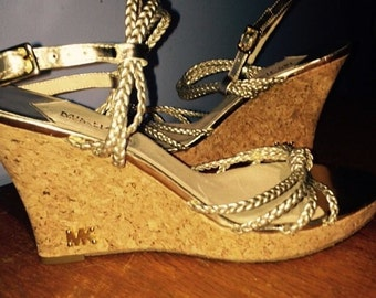 Michael kors Wedge sandals Size 11