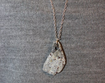 Speckled Rock Necklace