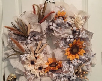 Thanksgiving, or not Thanksgiving, this wreath could brighten your home every day of