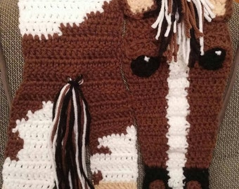 Handmade to Order Horse Scarf