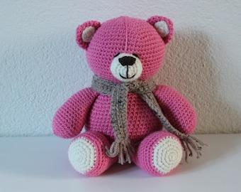 Amigurumi Bear, Stuffed animal, Crochet Bear, Crochet animal, Handmade bear, Handmade toys, Plush, Soft bear, Knitted bear, Ready to ship