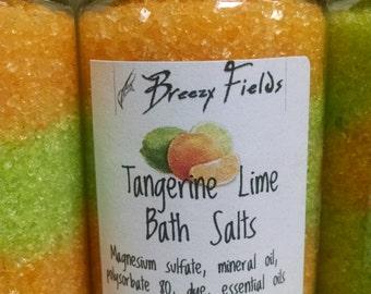 Relaxing Epsom Salt Bath Soak