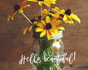 Cover - Hello, Beautiful