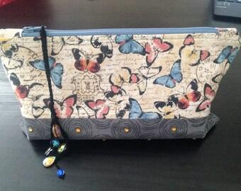 Cosmetic Bag/ wristlet