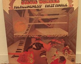 Stevie Wonder Fulfillingness' First Finale Vinyl LP 1974