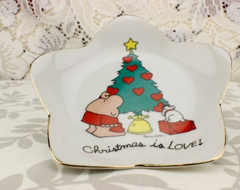 1981 Ziggy Christmas is Love Plate
