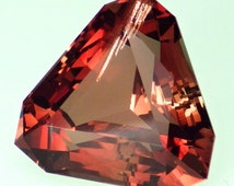 Fancy Red Schiller Oregon Sunstone 9.03 Ct Flawless-Amazing Color-Top Jewelry / Investment Grade Gemstone-Read!