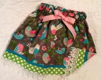 Little Girls Skirt / Toddler Skirt / Size 4-5