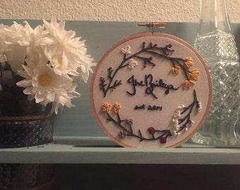 Handmade Embroidery Hoop