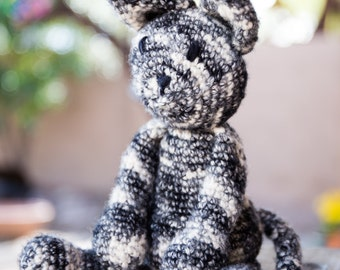 Hand Crocheted Tabby Cat