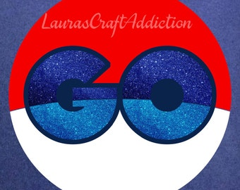 Pokemon GO svg,  Pokemon GO shirt svg, Go shirt, Go design, Go svg, Pokemon svg, Pokemon shirt, Pokemon Go decal, Go decal, GO banner,svg