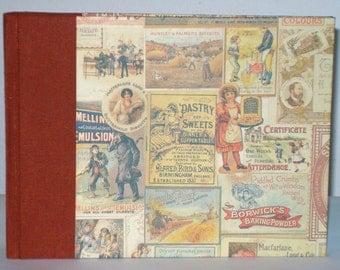 Photo album, photo album, vintage paper