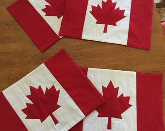 Canadian Flag Place mats
