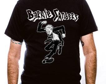 Bernie Sanders Punk Rock Shirt - Circle Jerks - Unisex