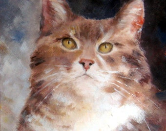 Various animals oil paintings acrylic paint