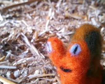 OOAK Needle Felted Snail