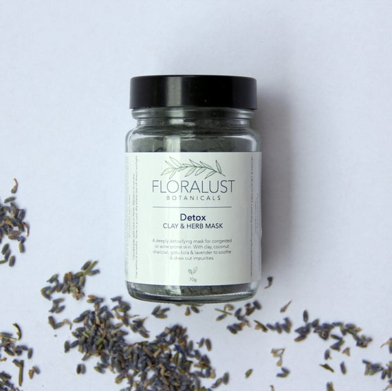 Why Activated Charcoal Is A Must For Skincare Masks: Detox Clay & Herb Mask // Activated By FloralustBotanicals