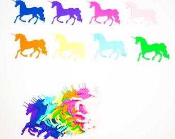 Unicorn die cuts, Unicorn silhouette, Paper unicorns