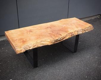 Maple Live Edge Table
