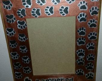 Pampered Pooch picture frame
