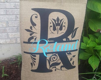 Personalized garden flags!