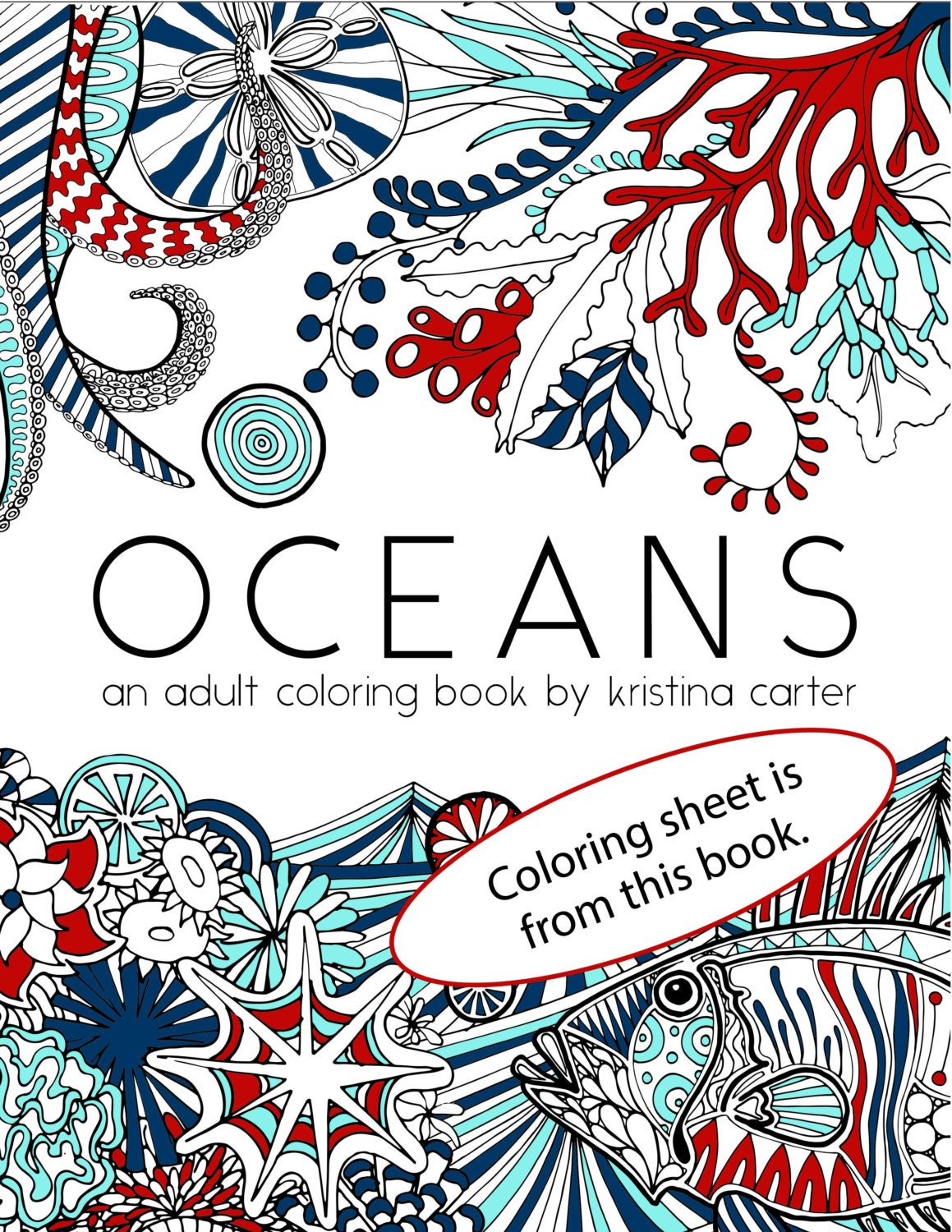 Nautical Coloring Pages For Adults : Dolphin coloring page adult sheet nautical