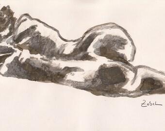 Nude sketch 3