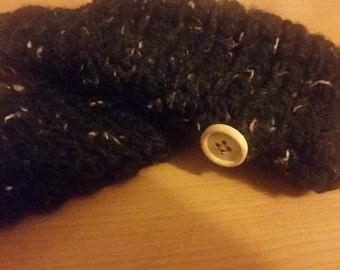 Lightweight Black Fingerless Gloves