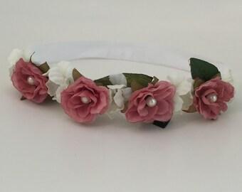 Dusty Rose Crown