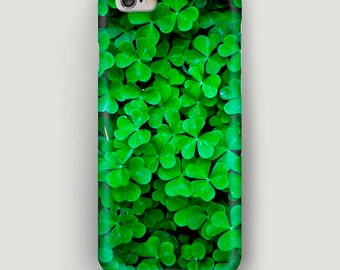Clover iPhone 6 Plus Case, Green iPhone 6 Case, iPhone 5s Case, iPhone 5c Case, iPhone 4 Case