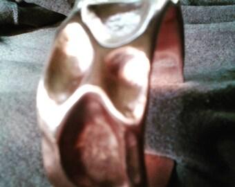 Organic Look Copper Cuff