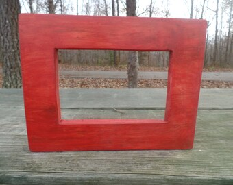 Picture Frame 6x4, Handmade.