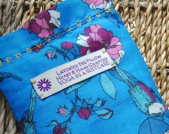 Yoga Eye Pillow ~ Handmade -Indian Cotton