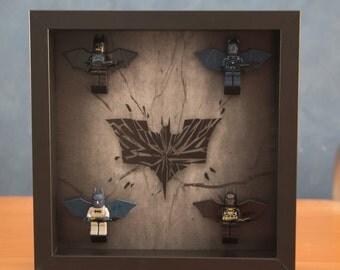 Batman mini-fig display frame
