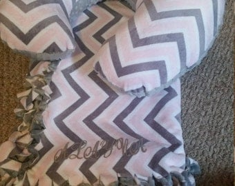Customized boppy pillow and blanket