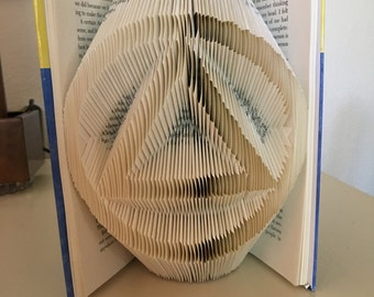 Alcoholics Anonymous Folded Book Art